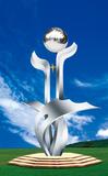 不锈钢雕塑 -未来之星