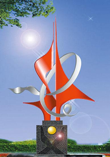 不锈钢雕塑 理想之梦