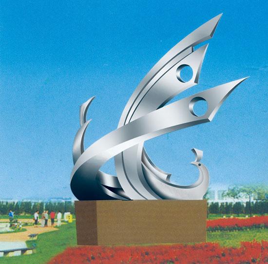 不锈钢雕塑 欢歌