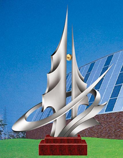 不锈钢雕塑 绿色家园