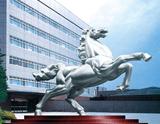 不锈钢雕塑 -马
