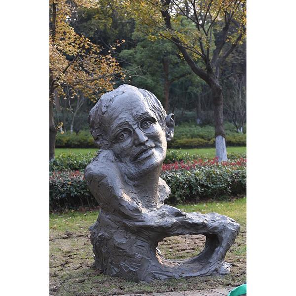 校园雕塑 张海迪