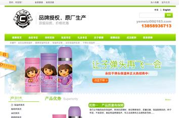 雄狮工贸营销型网站案例展示