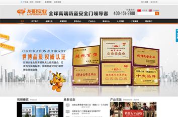 龙阳营销型网站案例展示