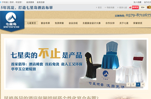 七星岛营销型网站案例展示