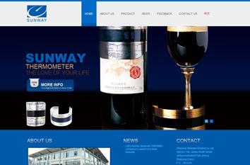 神威外貿型網站案例展示
