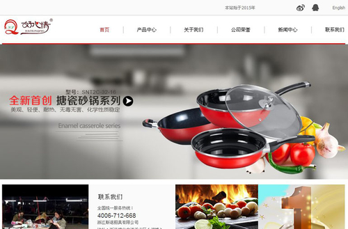 斯诺营销型网站案例展示-