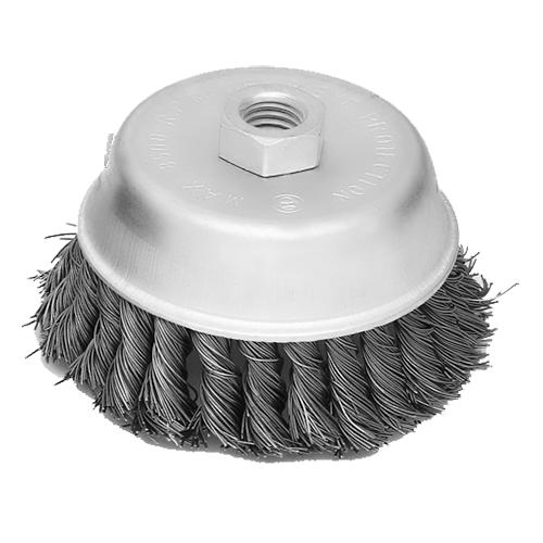 125MM扭丝电镀碗型刷-