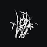 锡画 兰花-兰花