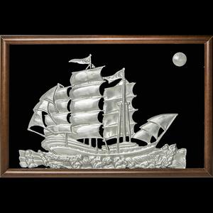 锡画 帆船 -帆船
