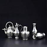 永康锡雕五件套中号(花瓶)-永康锡雕五件套(花瓶)