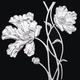 锡画 -罂粟花
