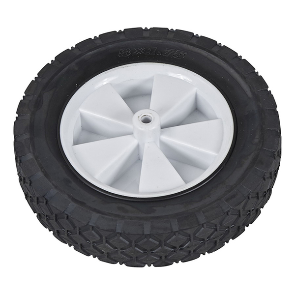 8-inch rubber wheel