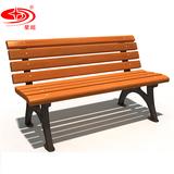 户外防腐木休闲椅 -3705