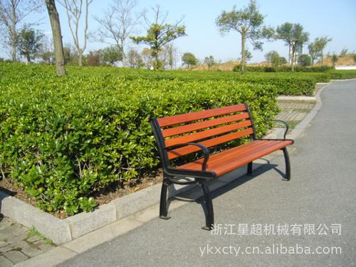 钢板喷塑公园椅-6602