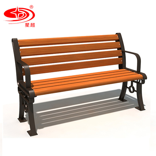 带靠背休闲长椅-3804
