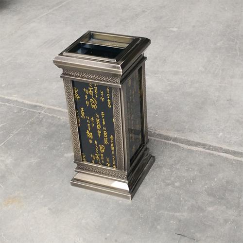 甲骨文仿古室内垃圾桶-4901-42285