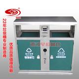 不锈钢户外垃圾桶 -4502-13928