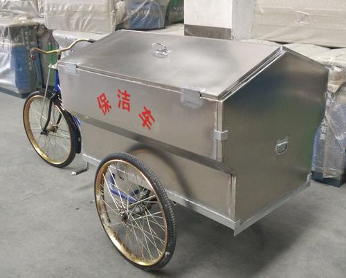 不锈钢人力垃圾车-6304-341628