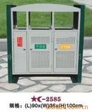 钢板喷塑垃圾桶 -2209-9255