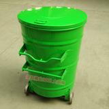 圆形环卫挂车垃圾箱 -6702-13598