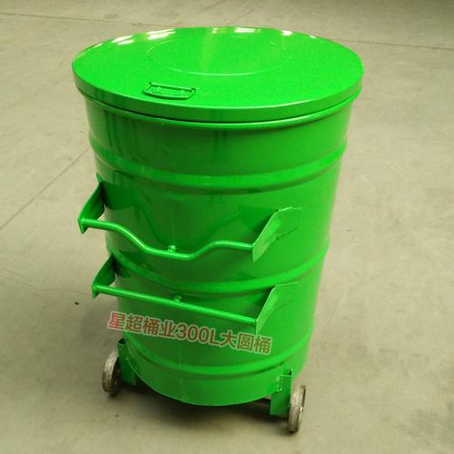 圆形环卫挂车垃圾箱-6702-13598