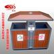 仿古铁艺景区户外分类钢木垃圾桶-0501-13720