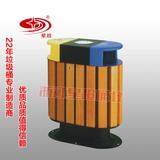 防腐木分类果皮箱 -1501-13485