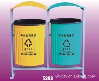耐高温分类垃圾桶-5202