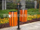 防腐木环卫垃圾桶 -0909-17547