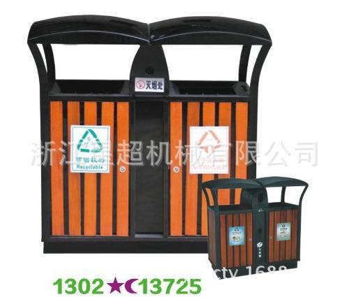 不锈钢板垃圾桶-1302-13725