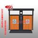 防腐木分类垃圾桶-0201-13658