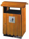 钢木垃圾桶 -1311-21552