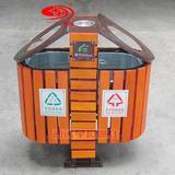 钢木垃圾桶 -1903-13760