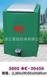 镀锌喷塑液压脚踏户外垃圾桶 -3602-30458