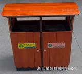 户外防腐木果皮箱 -0207-12788