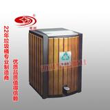 防腐木垃圾桶 -1901-139650