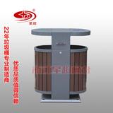 防腐木垃圾桶 -1505-13535