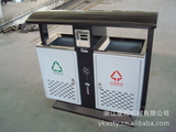 钢板冲孔环卫垃圾桶