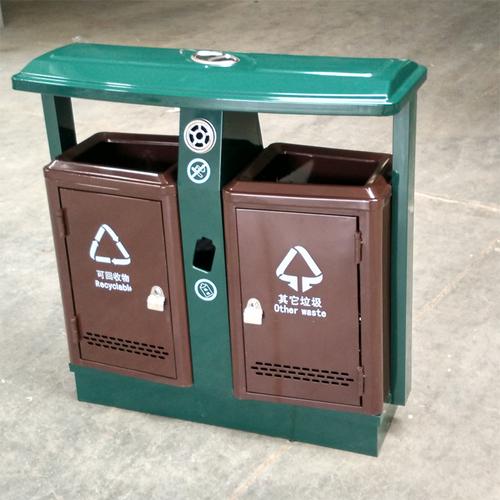 户外钢板垃圾桶-2013年款