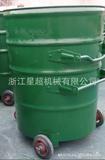 240L圆形挂车垃圾桶 -6410-35568