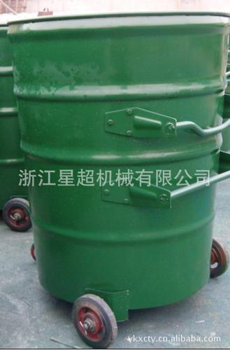 240L圆形挂车垃圾桶-6410-35568
