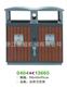 钢板喷塑垃圾桶-0404-13665