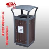 防腐木小区单桶 -2002-13560