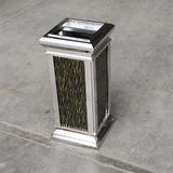精品室内不锈钢垃圾桶 -4911-42355