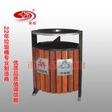 钢木垃圾桶 -1701-13515