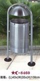 镀锌单桶垃圾桶 -3210-98460