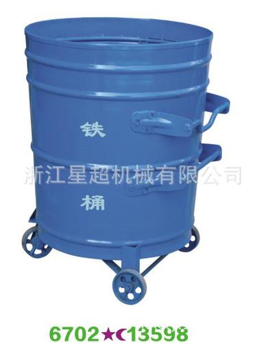 户外铁制垃圾桶-6702-13598
