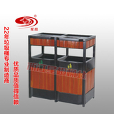 钢木分类垃圾箱 -1301-13718