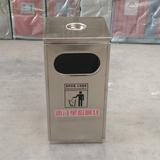 不锈钢方形垃圾桶